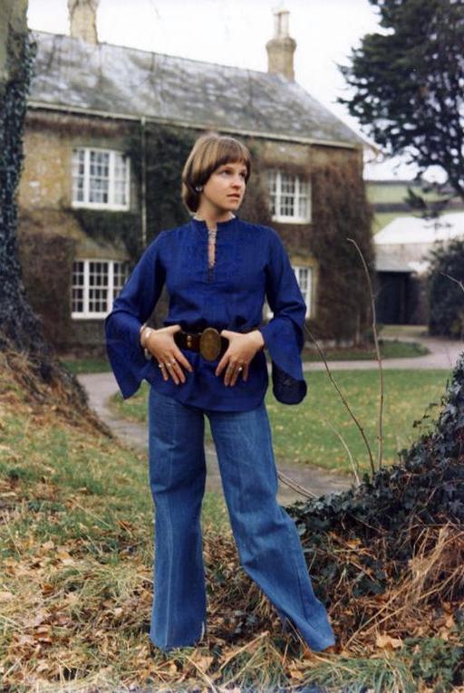 Blue-jeans et tunique