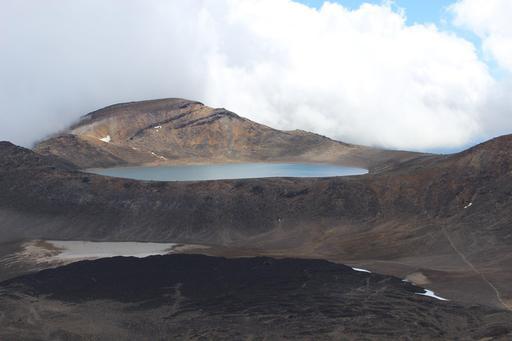 Lac Bleu, en Nouvelle-Zélande