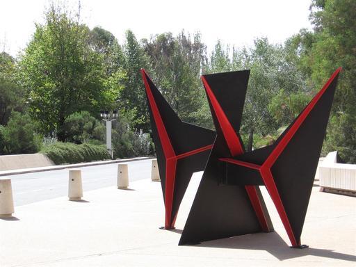 Bobine d'Alexander Calder à Canberra