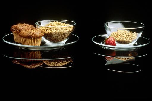 Bols et assiettes en verre