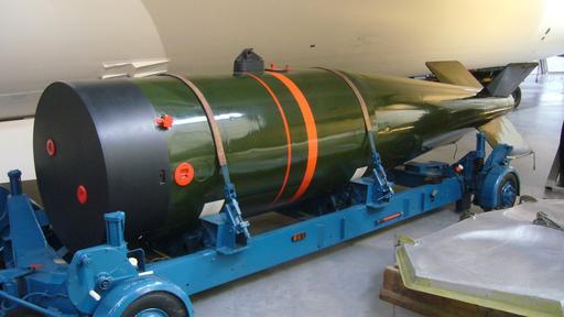 Bombe nucléaire en Angleterre
