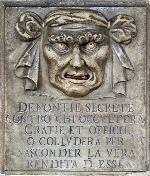 Bouche de lion à Venise