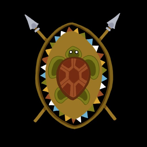 Dessin de bouclier de la tortue