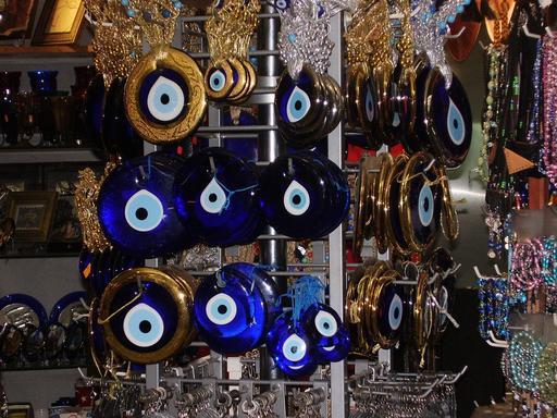 Boutique de vente de Nazar boncuks