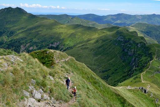 Brèche de Roland et Puy de Peyre Arse dans le Cantal