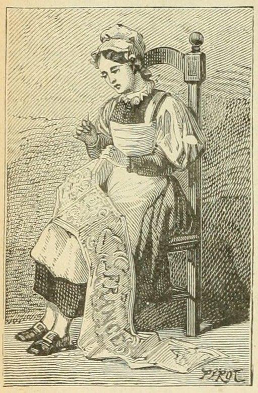 Brodeuse de Lorraine