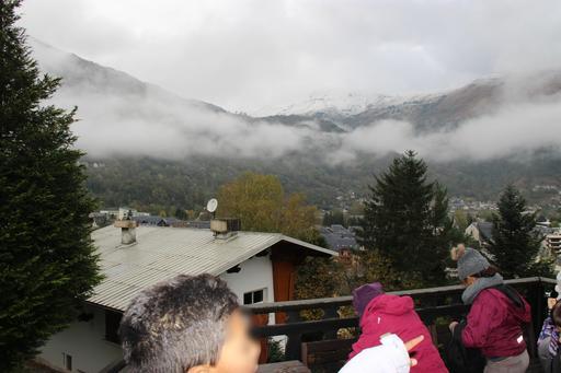 Brouillard du matin sur les Pyrénées