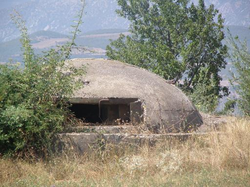 Bunker en Albanie