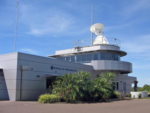 Bureau de la météorologie d'un aéroport en Australie