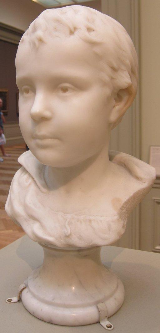 Buste d'Emile Gauguin