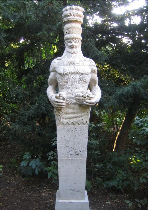 Buste de géant de conte de fées à Berlin