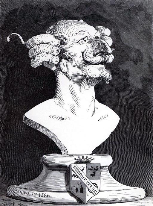Buste du Baron de Munchausen