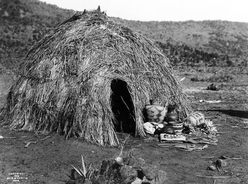 Cabane apache en 1903