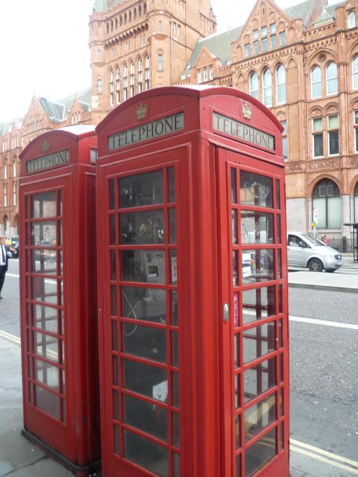 Cabines téléphoniques avec internet à Londres