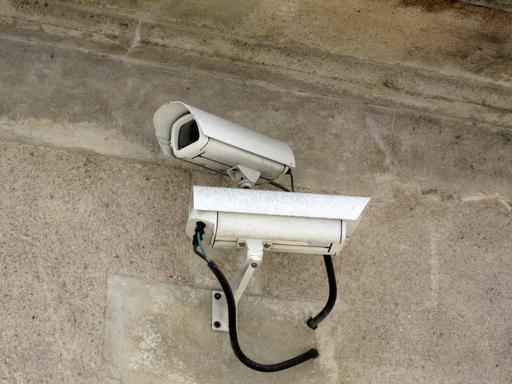 Caméra de surveillance à Cognac