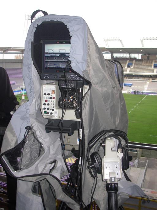 Caméra de télévision sportive