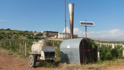 Canon anti-grêle en Arménie