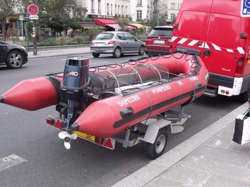 Canot de Sauvetage des pompiers de Paris