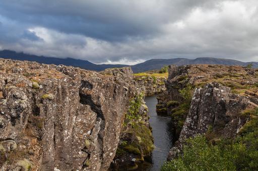Canyon Flosagja en Islande