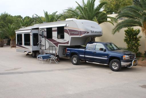 Caravane en Espagne