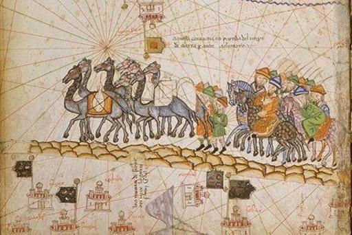 Caravane sur la Route de la soie