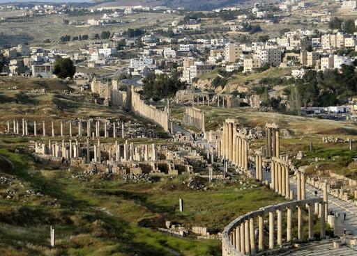 Cardo maximus de Jerash