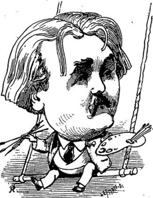 Caricature de Gustave Doré