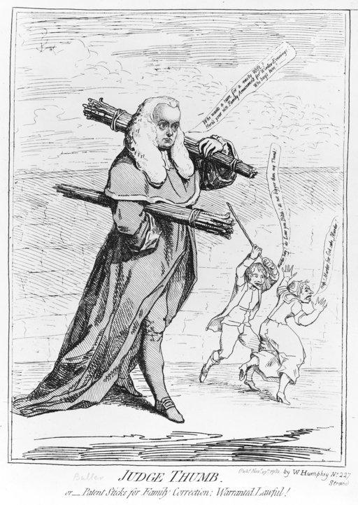 Caricature de juge