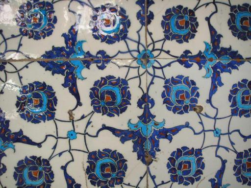 Carreaux de faïence ottomans
