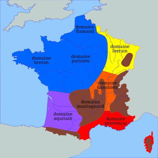 Carte climatique de la France