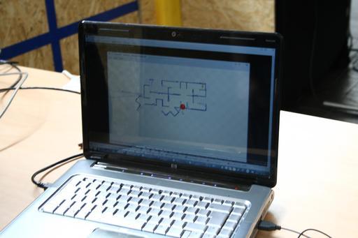 Carte de déplacement du robot Hector