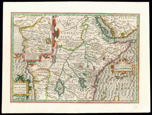 Carte de l'Abyssinie en 1630
