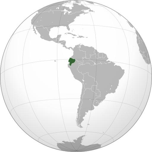 Carte de l'Équateur