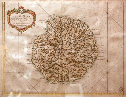 Carte de L'Isle de Bourbon