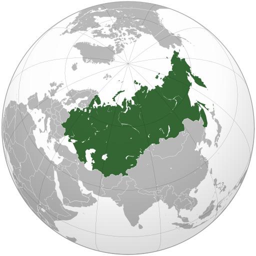 Carte de l'URSS