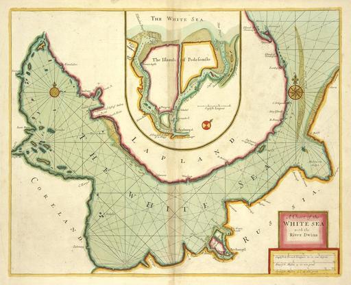 Carte de la Mer Blanche