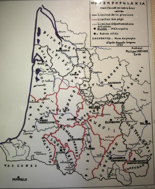 Carte de Novempopulanie