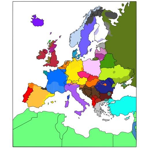 Carte des langues européennes