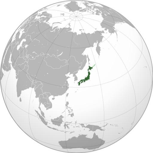 Carte du Japon