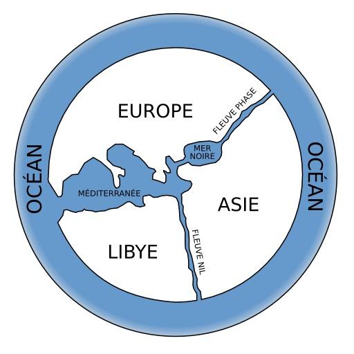 Carte du monde d'Anaximandre