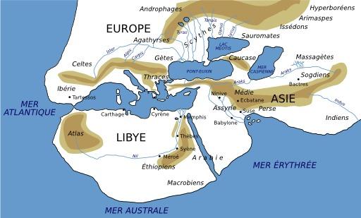 Carte du monde d'Hérodote