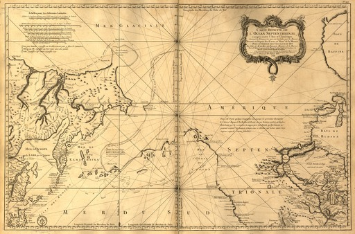Carte réduite de l'océan septentrional