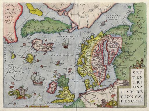 Cartographie du Nord de l'Europe
