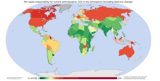 Cartographie mondiale des émetteurs de CO2