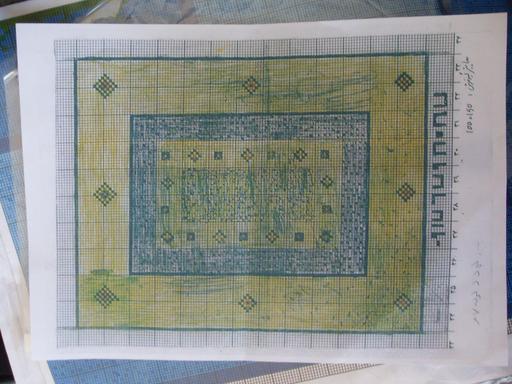 Carton de tapis iranien
