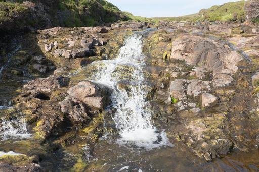 Cascade dans l'île de Skye