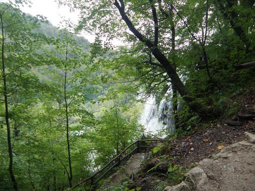 Cascade du parc national de Plitvice en Croatie