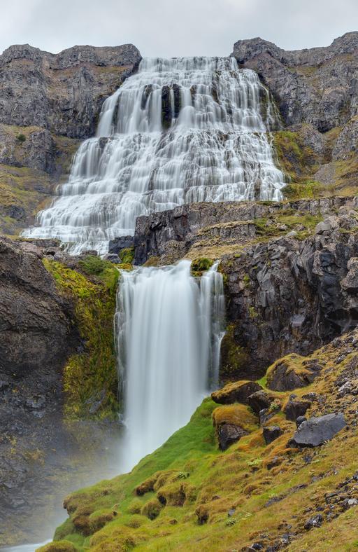 Cascade Dynjandi en Islande