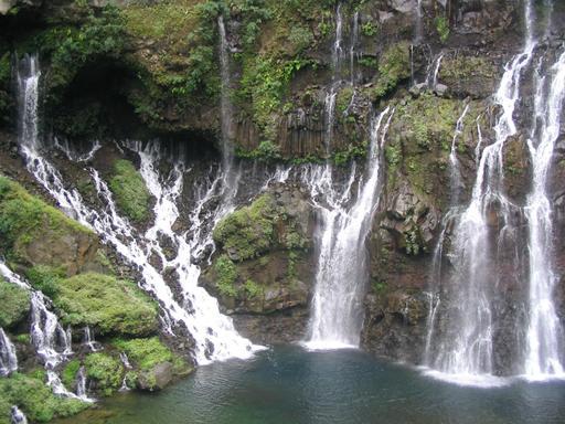 Cascade Langevin dans l'île de La Réunion