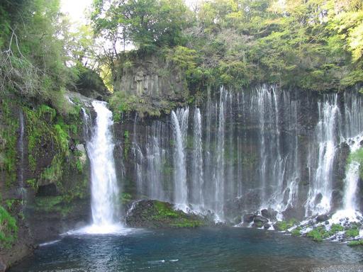 Cascades de Shiraito